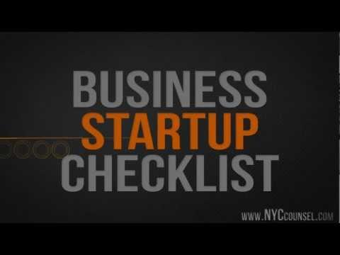 6 Step Business Startup Checklist