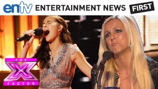 "Carly Rose Sonenclar Gives Britney Chills With ""My Heart Will Go On"" - X Factor Top 12"