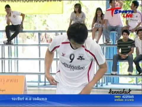 2011 Sepak Takraw Thailand League '' Bangkok Vs Karasin 5 of 10