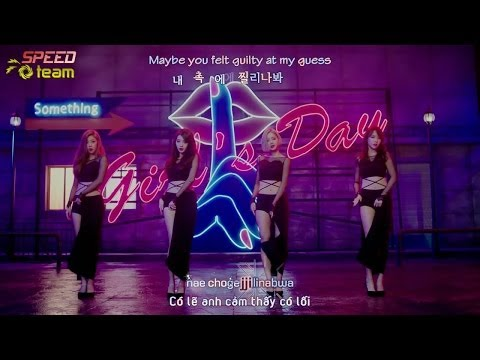 [Vietsub + Engsub + Kara] Girl's Day - Something
