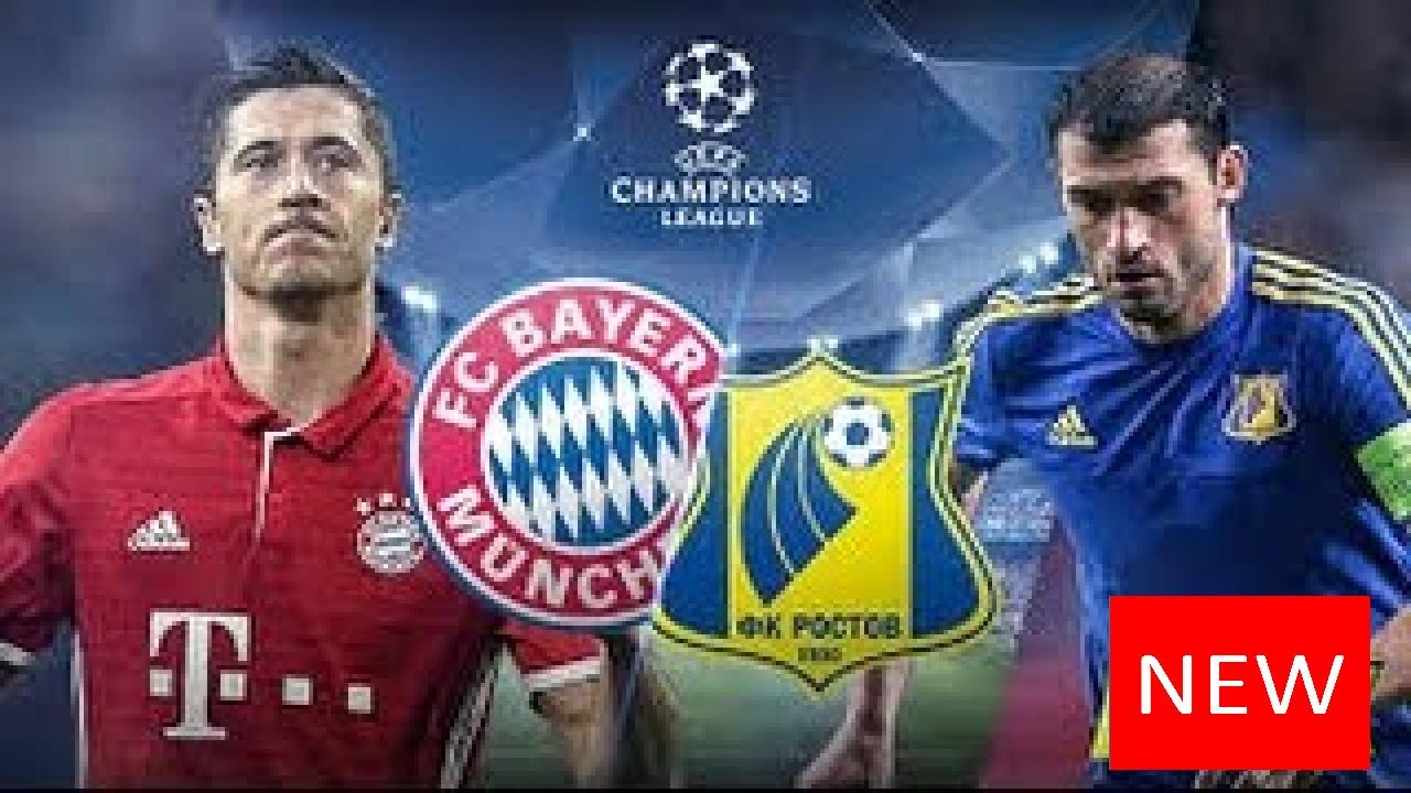 Download ✱✱ Rostov vs Bayern Munich - (3-2) GOLES Y RESUMEN/ UEFA CHAMPIONS LEAGUE ✱✱