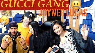 Joyner Lucas - Gucci Gang (Remix) Lyrics Producer & Family Reaction