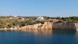 Isthmia Beach - Drone Video | Greece