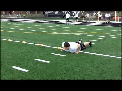 OL JUSTIN WOODRUFF HIGH SCHOOL FOOTBALL COMBINE CHALLENGE .COM.wmv