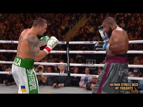 OLEKSANDR USYK VS CHAZZ WITHERSPOON - POST FIGHT REVIEW (NO FOOTAGE)