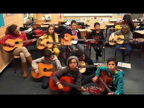 Groupe guitare para scolaire