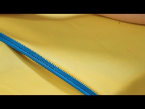How to Sew a Bound Seam | Sewing Machine