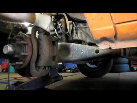 How to replace the ball joints on a Ford E 250 without a