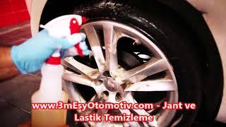Jant ve Lastik Temizleme, Oto Jant Temizleme, Oto Lastik Temizliği - www.3mesyotomotiv.com