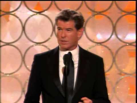 Golden Globes (2009): Pierce Brosnan Presenting
