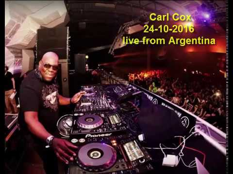 Techno-mix by Carl Cox. 24.10.2016. Live from Argentina