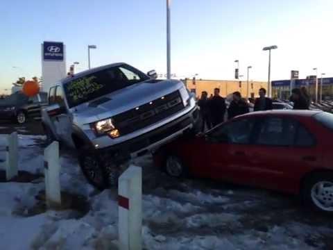 Raptor VS Chevy! - YouTube