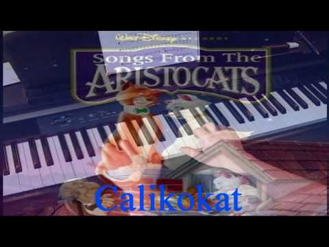The Aristocats - Theme - Piano