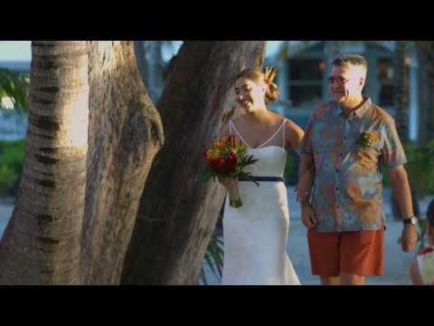 Cayman Islands Rum Point Wedding- Laura & Adam