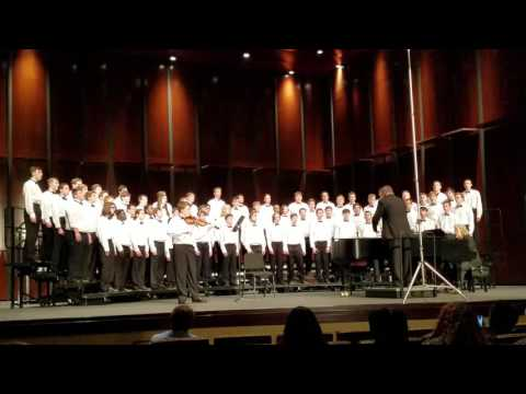 Tell My Father- All East TN Honor Men's Choir Soloist Isaiah Bishop Violinist Bryant Denmark