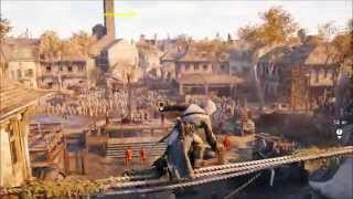 AC Unity - Realistic Parkour (Rise of The Assassin)1080p60Fps