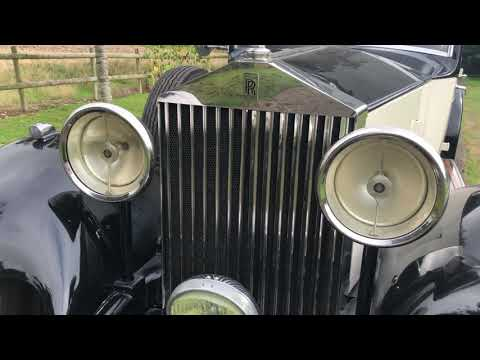 1933 Rolls-Royce Park Ward Limousine
