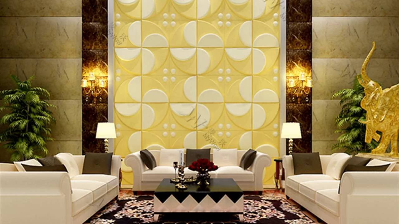 Bamboo Fiber Wall Panel from MyWow - YouTube