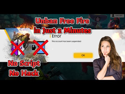 Download Free Fire Unbanned Account Open Suspended Account