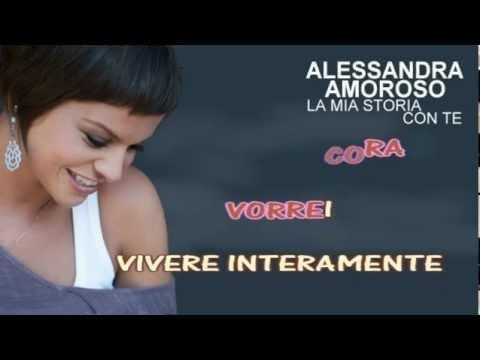 VERO KARAOKE  INSTRUMENTAL  La mia storia con te Alessandra Amoroso