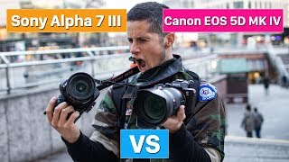 Sony Alpha 7 III vs Canon EOS 5D Mark IV | which one is better? (english)