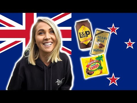 Trying New Zealand Candy