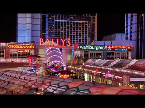 Bally's Las Vegas Room, Casino, Food Court, Grand Bazaar Shops Tour | March 2020