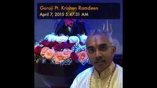 Don't Worry Simply Let Go – Guruji Pt. Krishen Ramdeen