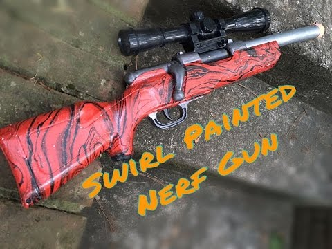 Honest Review Swirl Painted Buzz Bee Predator By Autonerf Youtube