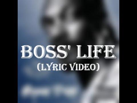 Snoop Dogg ft. Nate Dogg - Boss' Life (Lyric Video)