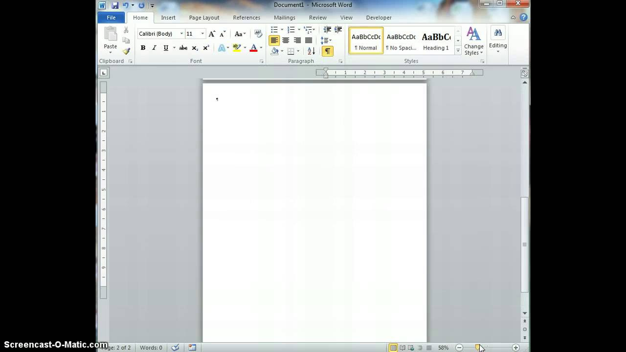 How To Get Rid Of The Annoying Blank Page After A Table