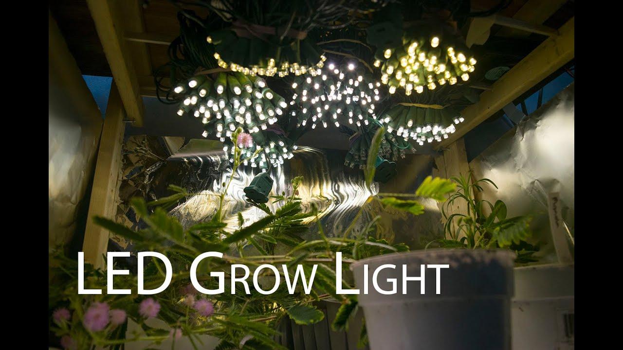 How To Build A Led Grow Light Youtube