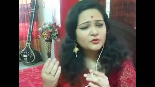 Download Hindi Video Songs - Bajlo tomar aalor benu (Covered by Anindita)