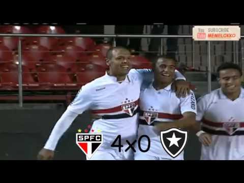 Top 5 gols Luis Fabiano - Brasileirão 2012