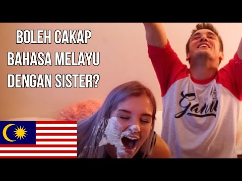 OH MY BAHASA MALAYSIA! (BROTHER V SISTER) | Mark O'Dea