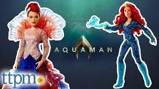 Aquaman Mera and Royal Gown Mera Dolls from Mattel