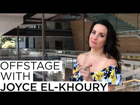 Offstage with Joyce El-Khoury