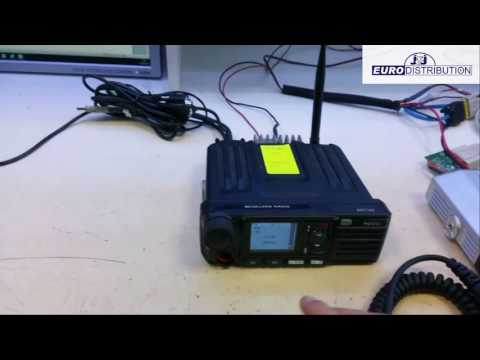 Transmit serial transparant data trough dmr hytera radio