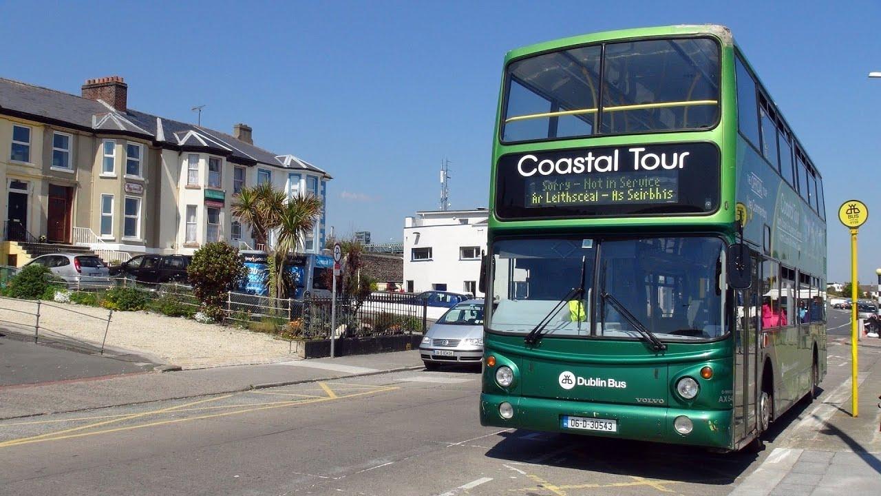 Dublin Bus South Coast and Gardens tour HD
