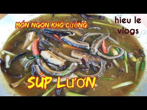 Súp Lươn-lần đầu ăn món này hương vị độc lạ-ẩm thực hieule vlogs.