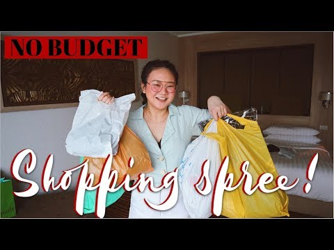 NO BUDGET SHOPPING SPREE IN THAILAND + TRY ON!! | ASHLEY SANDRINE