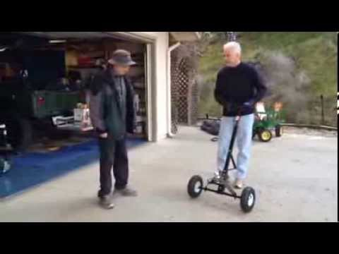 Trailer dolly youtube for Outboard motor dolly harbor freight