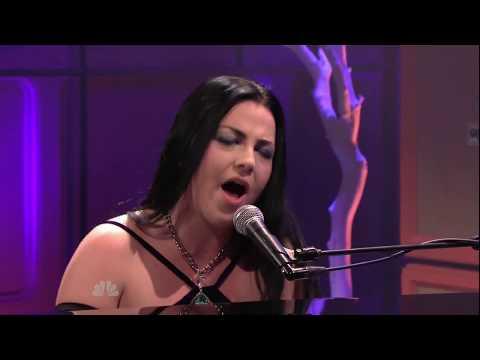 Evanescence-My Heart Is Broken  (Tonight Show W. Jay Leno) Full HD
