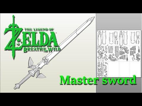 BOTW the blade of evil's bane The master sword - YouTube