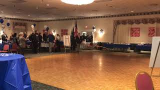 Boston Police Gaelic Column honors Newton Police at Post 440
