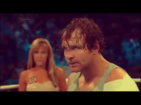 dean ambrose hit you with the real thing mv
