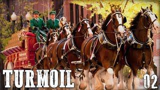 "TURMOIL Gameplay Walkthrough Part 2 - ""HORSEY UPGRADES!!!"" 1080p PC"