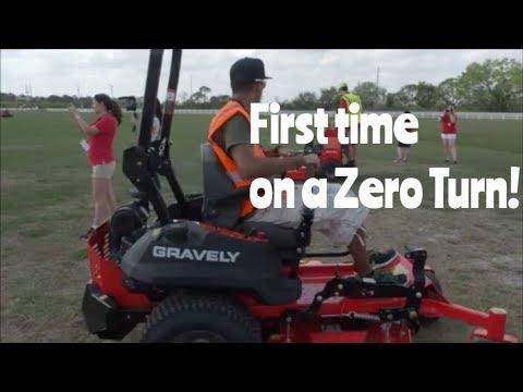 Gravely Ambassador Rally- Dan Ariens shares his story- Testing Gravely commercial zero turn mower
