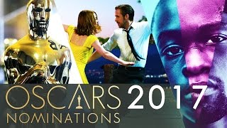 OSCARS 2017 - 89th Academy Awards Nominations and Our Predictions