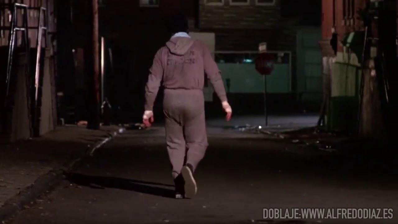 Rocky sale a correr durante la cuarentena y es increpado por los BALCONAZIS